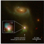 Astronomers detected an AGN that shows evidence of turning off and then on again.