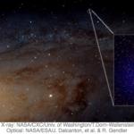 A pair of orbiting supermassive black holes!