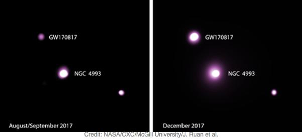 Neutron star merger surprises astrophysicists
