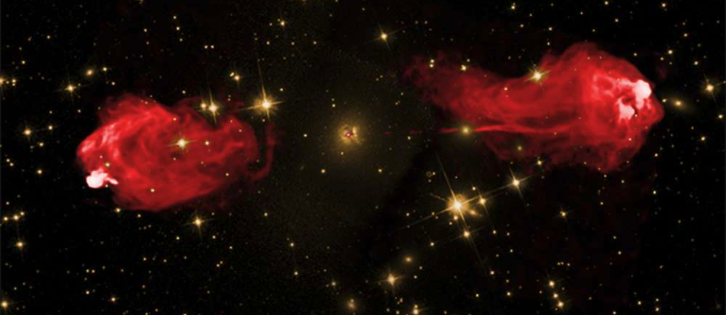 Strong magnetic fields affect how supermassive black holes are fed.