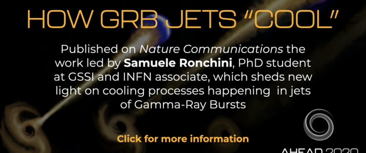 """How GRB jets """"cool"""": a GSSI study on Nature Communications"""